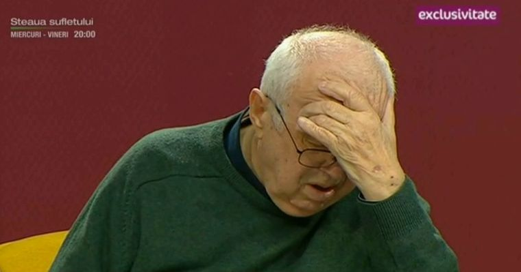 Alexandru Arsinel, in lacrimi, la Teo Show! A vorbit gatuit de emotie despre primul spectacol fara Stela Popescu