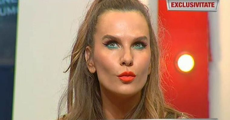 Anna Lesko, aparitie incitanta in platou la WOWbiz! Artista le invata pe femei cum sa iti tina barbatul mereu langa ele