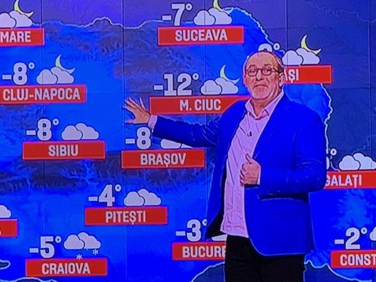 Florin Busuioc a revenit la TV. Prima apariție după infarctul din noiembrie