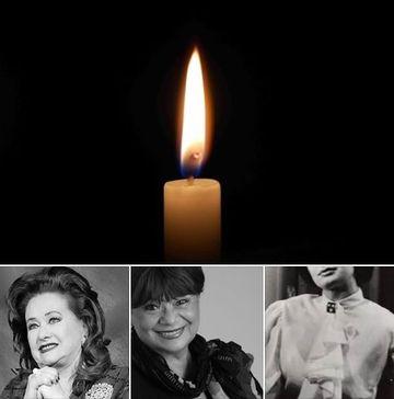 Teatrul românesc este în doliu la început de an. După Stela Popescu și Cristina Stamate, o altă ACTRIȚĂ LEGENDARĂ A MURIT!