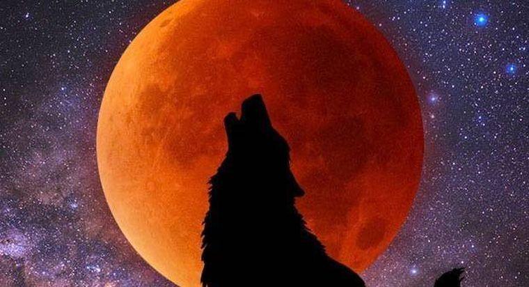 Eclipsă totală de Lună: