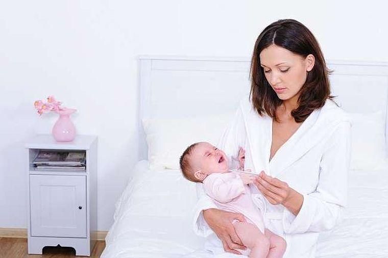 Răceala şi gripa în primul an de viaţă al bebeluşului