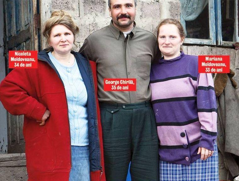 George Chirilă, bărbatul cu două neveste, mărturisiri din dormitor. Cum face sex cu cele doua soţii surori