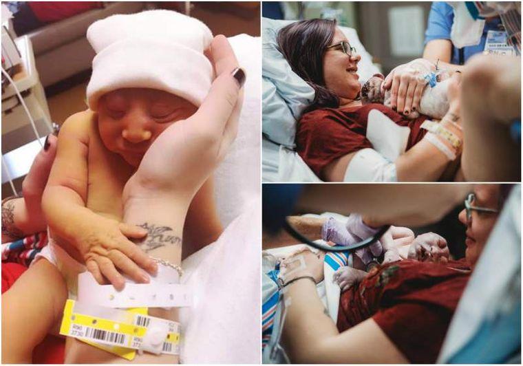 """Bebelușul folosit pentru """"piese de schimb"""". Această fetiţă a fost adusă pe lume de părinți pentru a salva alte vieți"""