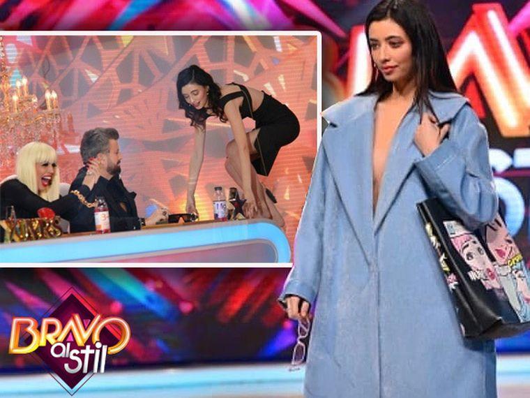 """Povestea Alexandrei de la """"Bravo, ai stil!"""", concurenta care a reuşit deja să şocheze lumea! S-a urcat pe masa juraţilor! Cum se îmbracă în afara emisiunii"""