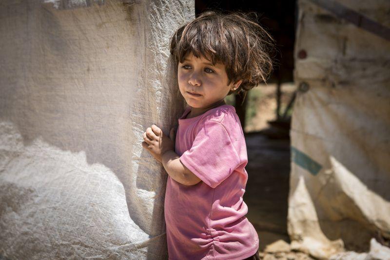 copil in siria
