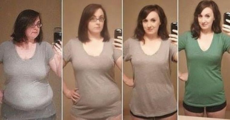 A slăbit 40 de kilograme fără sport și diete stricte