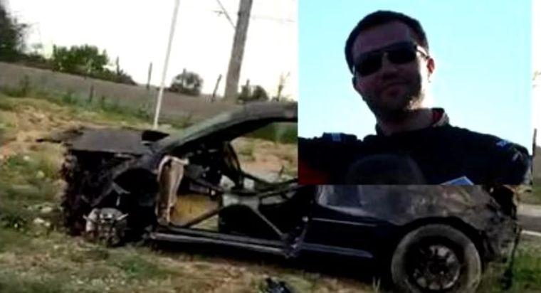 Ciprian Tofan, pilotul de drag racing, a murit într-un accident de mașină