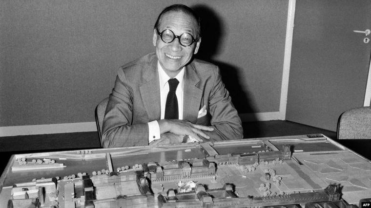 Arhitectul piramidei de la Louvre, Ieoh Ming Pei, a murit