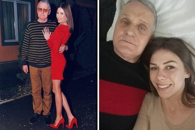 """El are 74 de ani, ea 21 și vor să facă sex la TV! Toată lumea o întreabă: """"De ce stai cu el?"""" Răspunsul tinerei e halucinant"""