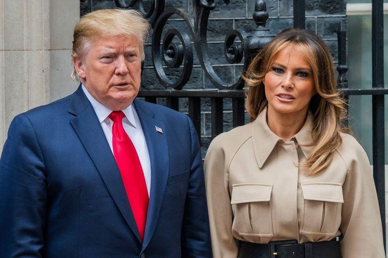 Melania Trump a cucerit Marea Britanie cu ținuta ei de 4.400 de dolari. Ce rochie a purtat