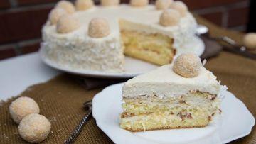 Prăjitura Raffaello - cea mai delicioasă rețetă! Nu necesită coacere