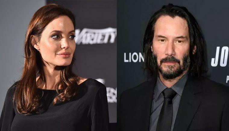 Angelina Jolie și Keanu Reeves sunt împreună? Cei doi ar avea o relație secretă