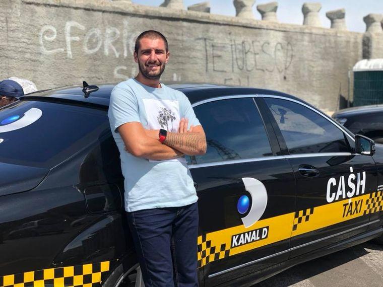 """Catalin Cazacu, mandru de fiul sau:  """"Eu as vrea sa-l vad in ring, dar el isi doreste mai mult sa fie la volanul <Cash Taxi>"""""""