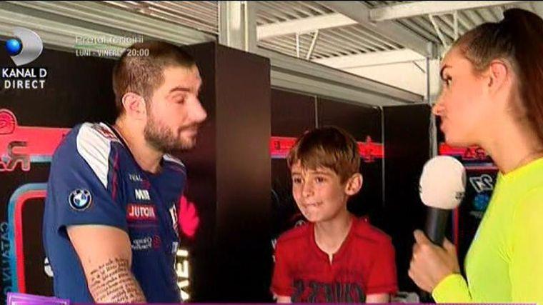 Cătălin Cazacu a aflat că fiul lui de 9 ani are iubită!