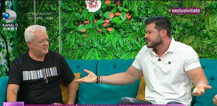 Victor Slav și tatăl lui, în premieră la TV!