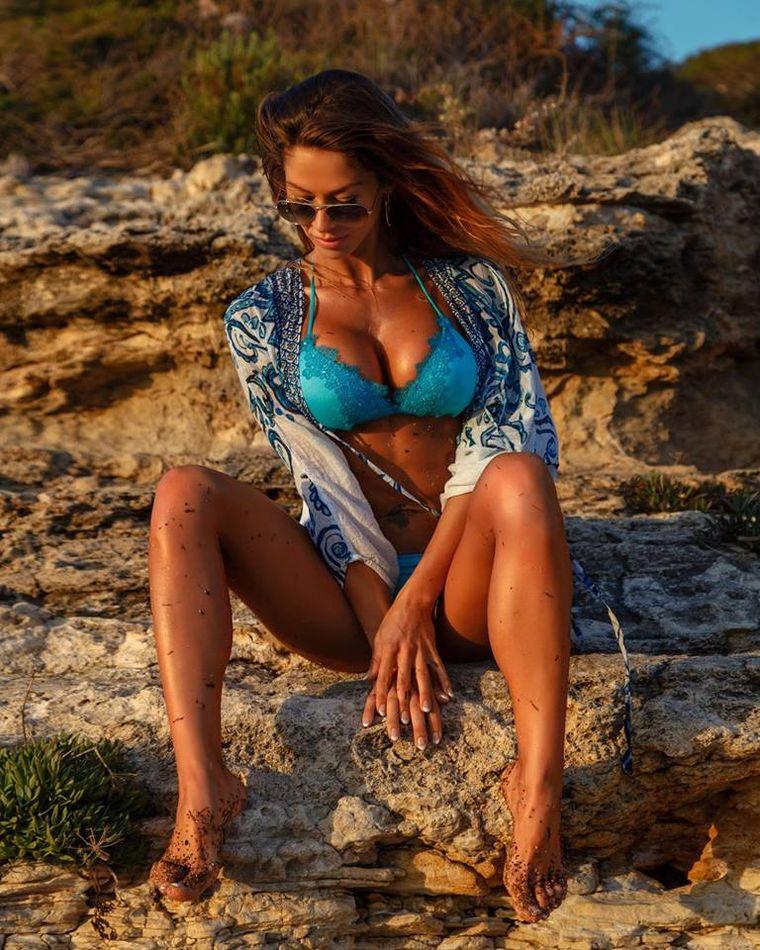 """""""Războinica"""" Alina Pană a încins internetul! Cum a apărut pe plajă fosta concurentă de la Exatlon"""