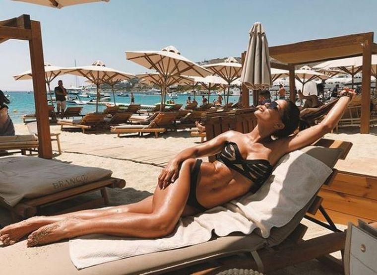 Cea mai sexy Războinică de la Exatlon, spectacol total pe plajă! Diana Senteș, așa cum nu a mai fost văzută