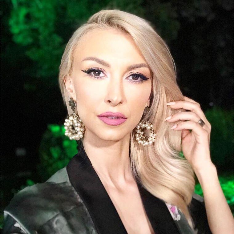 Prima imagine cu cea de-a doua fetiţă a Andreei Bălan, Clara Maria