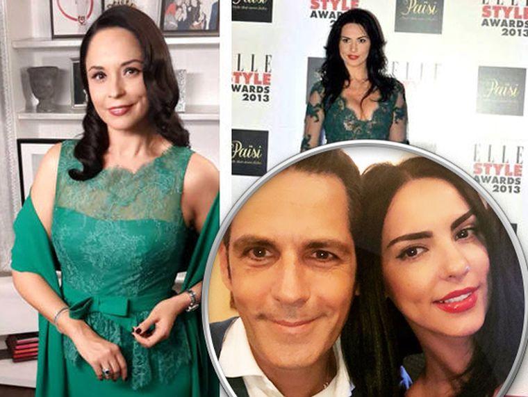 """Lavinia Pîrva  o copiază din nou pe Andreea Marin? Ce a făcut soția lui Bănică jr. la """"Cerbul de aur"""" de i-a contrariat pe mulți"""