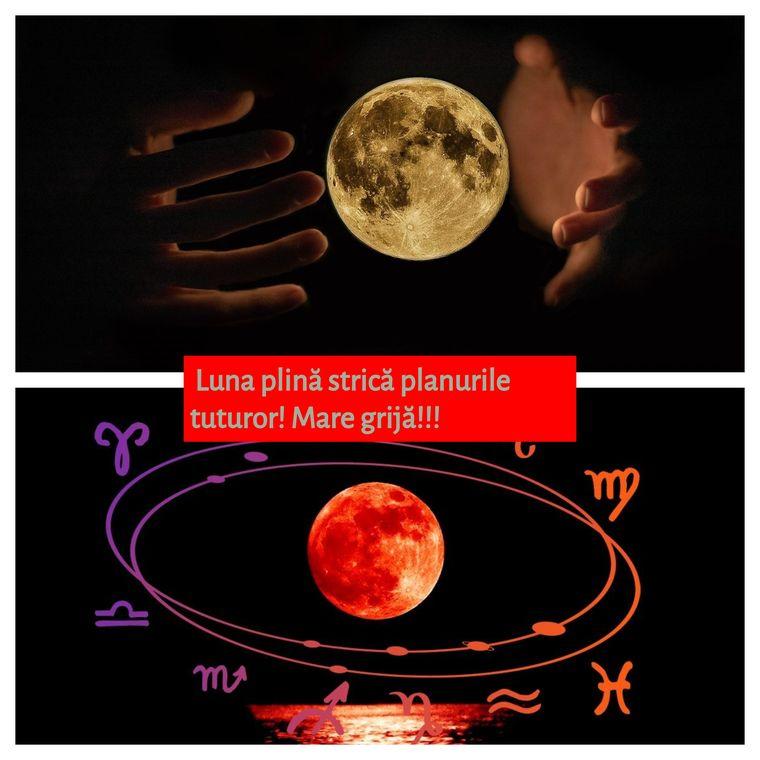 Horoscop joi, 12 septembrie. Luna plină strică planurile tuturor. O zi plină de neprevăzut!