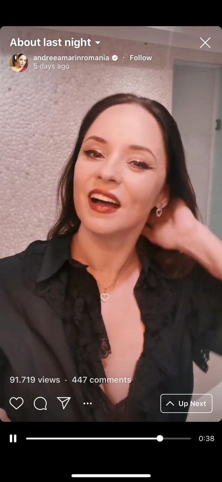 Andreea Marin s-a filmat în baie! Imagini incredibile cu vedeta