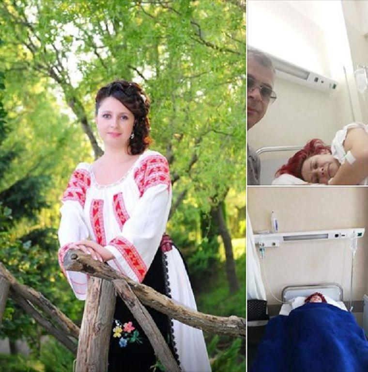 Artista Monica Pirvulescu, accident in vacanta