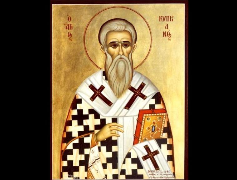 Sfântul Ciprian, prăznuit pe 2 octombrie. Rugăciunea făcătoare de minuni