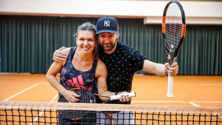 Simona Halep nu l-a uitat pe Smiley, deși se mărită cu Toni! Ce declarație i-a făcut cântărețului?