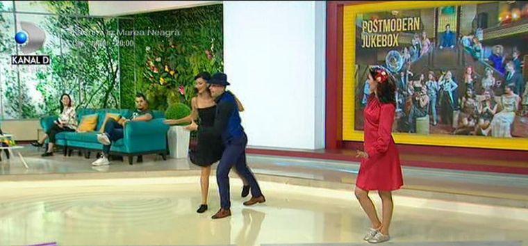 Show de dans impresionant ca în anii '20, la Teo Show