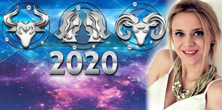Horoscopul anului 2020! Astrologul Roxana Lușneac Cioriceanu, predicții și avertizări pentru nativii zodiilor Berbec, Taur și Gemeni.