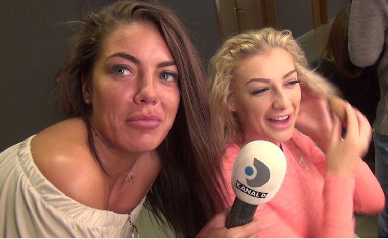 """Moment amuzant în culisele Puterea Dragostei! Roxana si Denisa vorbesc despre iubiții lor! Primele declarații despre Turcu """"Nu cred că o să reziste aici"""" VIDEO EXCLUSIV"""