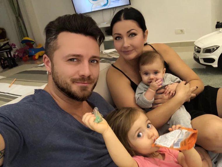 Gabriela Cristea și familia