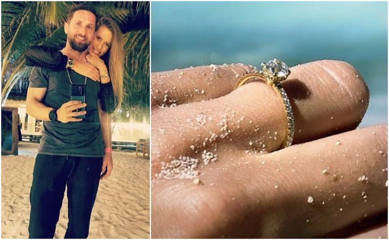 Dani Oțil s-a logodit