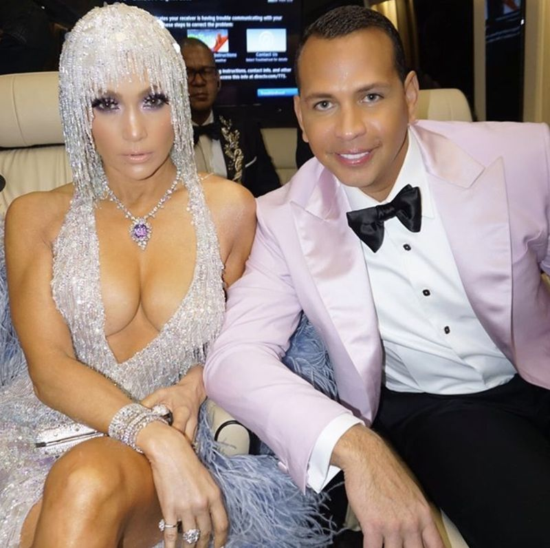 J. Lo și Alex rodriguez