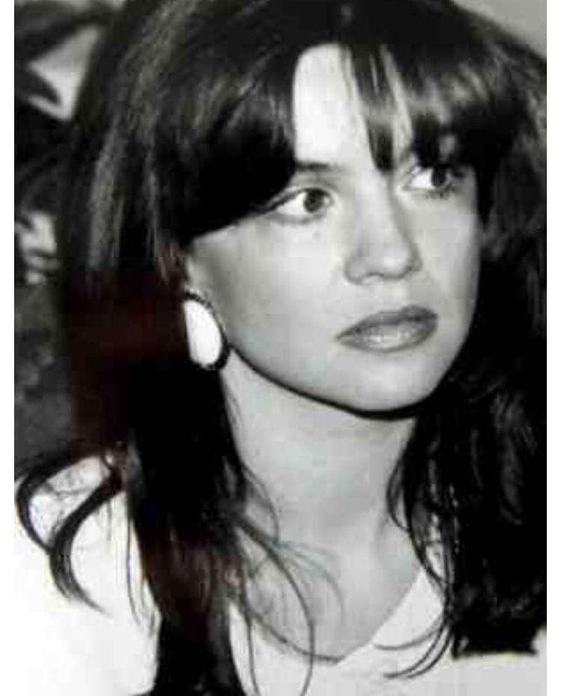 Cristina Țopescu în tinerețe