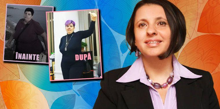 Povestea femeii care a slăbit 40 de kilograme cu ajutorul Lygiei Alexandrescu! Care este dieta urmată de Luiza?