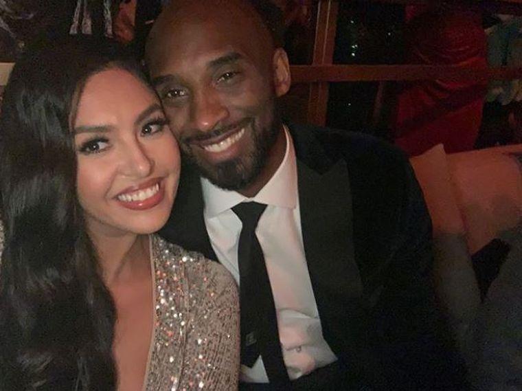 Kobe Bryant si sotia
