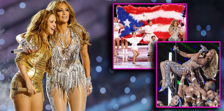 Jennifer Lopez și Shakira, spectacol la a doua tinerețe! Premieră la Super Bowl!