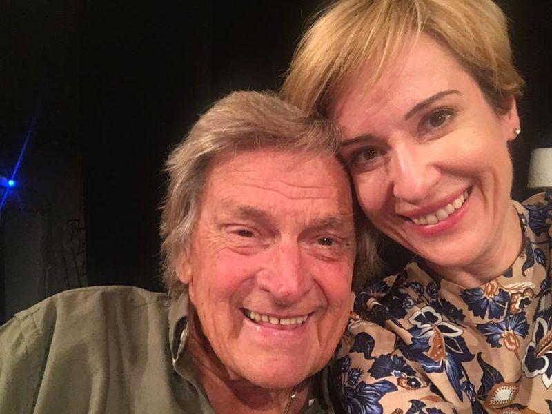 Medeea Marinescu si Florin Piersic