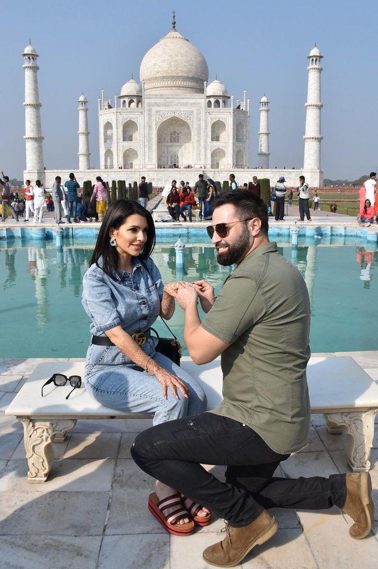 Celia a fost cerută în căsătorie pentru a doua oară, în India