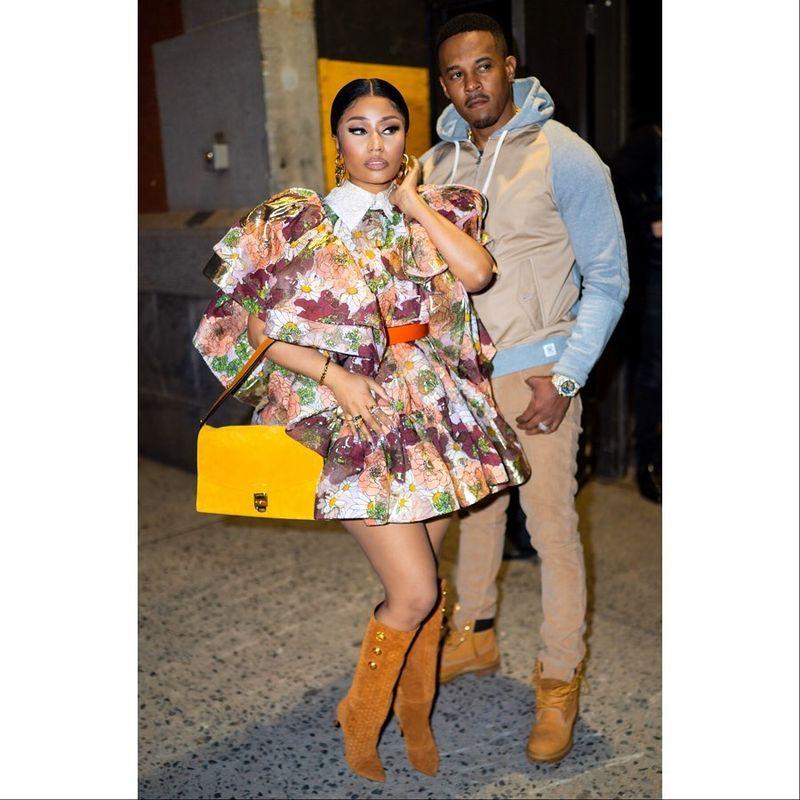 Nicki Minaj a stârnit mii de zvonuri cu un filmuleț. Este însărcinată?