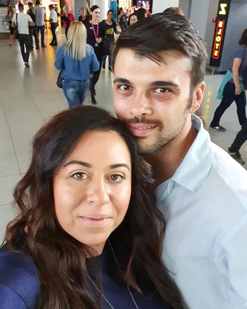 Oana Roman și Marius Elisei