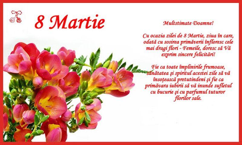 Mesaje de 8 Martie.Urări de 8 martie. Felicitări 8 martie. Ziua Femeii. 8 Martie