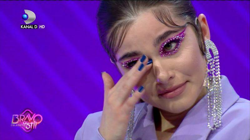 """Theo Rose- în lacrimi la """"Bravo, ai stil! Celebrities"""". """"Nu m-am lăsat bătută și nu am lăsat nici..."""""""