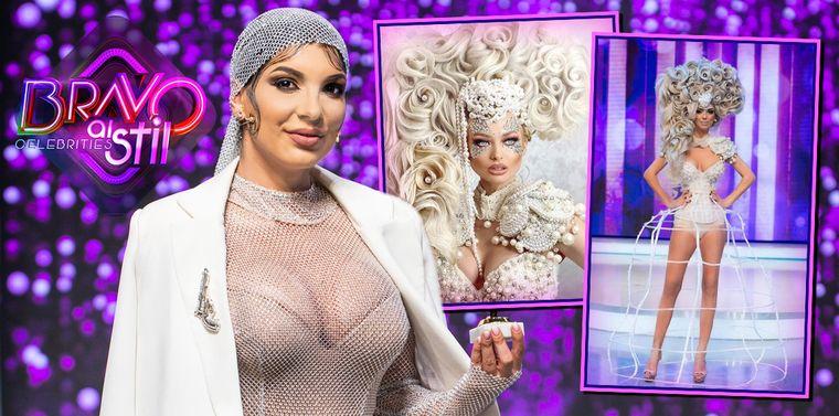 """Andreea Tonciu, acuzată că vine cu ținute copiate la """"Bravo, ai stil! Celebrities"""" Vezi cum arată originalele"""