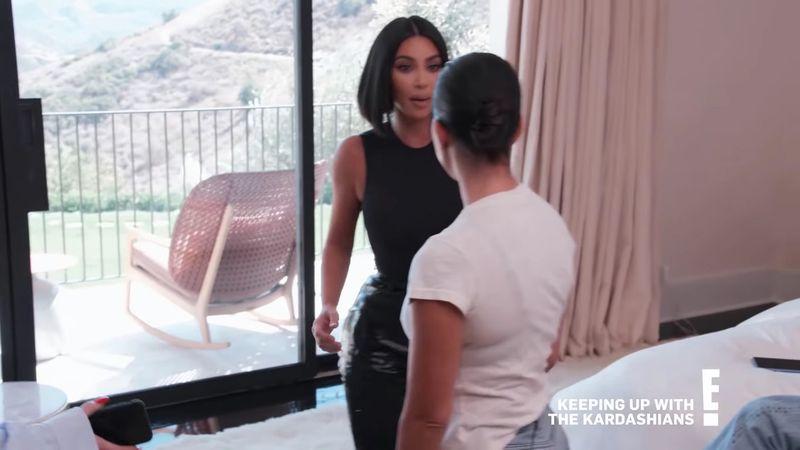 surori, scandal, televizor, kim kardashian, kourtney kardashian