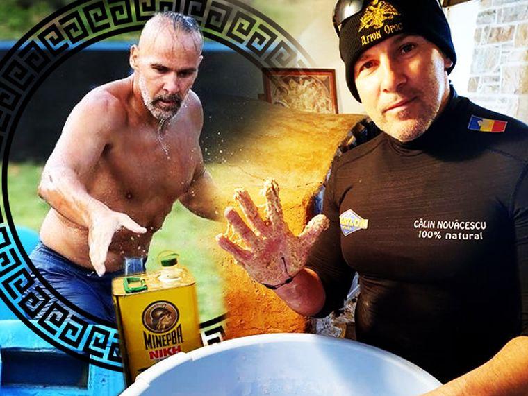 Un concurent de la Exatlon s-a făcut bucătar la Muntele Athos! Călin Novăcescu le găteşte călugărilor de pe Muntele Sfânt