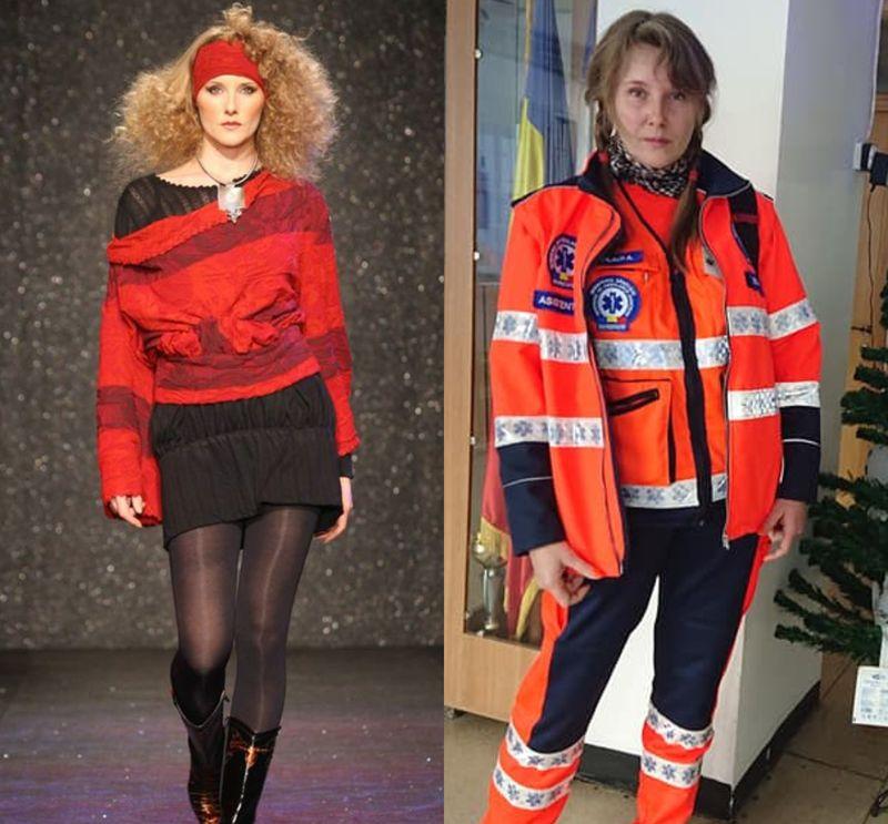 gabriela szilagi, model de top, asistent pe ambulanță, ambulanță, salveze vieți