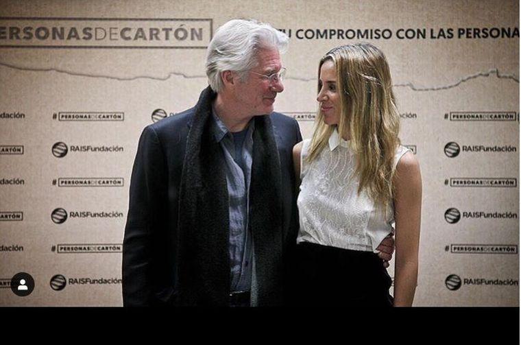 Richard Gere și soția sa au devenit din nou părinți